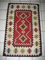 Teppich ca.1,18 x 73 cm , Brücke, Läufer, handgeknüpft, Handarbeit, Wolle