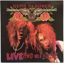 """guns n roses  LIVE LIKE A SUICIDE 12"""" 1986 ORIG Uzi Suicide VELVET REVOLVER LP"""