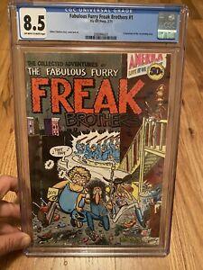 Fabulous Furry Freak Brothers #1 Comic Book 1st Print CGC 8.5 Vintage Marijuana