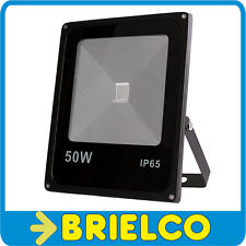 FOCO PROYECTOR LAMPARA LED 50W 220V SOPORTE ORIENTABLE 285X233X65MM NEGRO BD8936