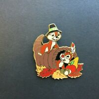 Holiday Pin Collection - Chip & Dale / Thanksgiving Disney Pin 37468
