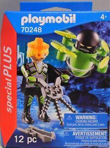 Playmobil Special Plus 70248 Agent mit Drohne Waffe Suchgerät NEU