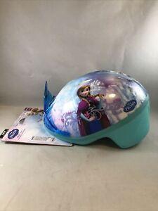 Disney Frozen Tiara Bicycle Helmet For ages 3-5 * (F3)