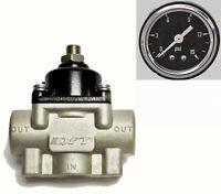 Fuel Pressure Regulator Gauge Kit Holley Carburetor Carb Quick Fuel 30-803-SBG