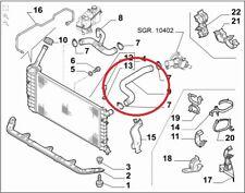 FIAT PUNTO 188 1.2 16V MANICOTTO RADIATORE PER 46543621