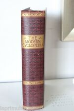 "VECCHIA  ENCICLOPEDIA ""THE MODERN CYCLOPEDIA"" VOLUME II / LIBRO INGLESE 1904"
