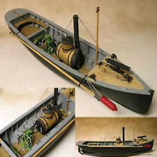 USN Picket Boat #1 Wooden Ship Model Kit 1:24 Scale