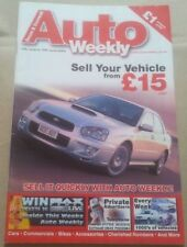 Auto Trader Style Weekly Magazine 2004 Max Power Live Girls Rover Streetwise
