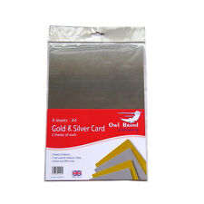 A4 Card Packs - White, Black or Coloured (225gsm)
