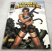 tomb raider #1 comickey lara croft's first solo series NM