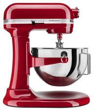New KitchenAid KG25H0X Professional Plus 5-Quart Stand Mixer,Red,Silver,Black