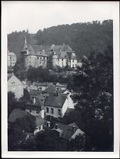 Luxembourg . photo ancienne . Clairvaux . L'ancienne Abbaye . 24 X 18 cm