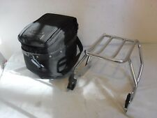 OEM HARLEY SPORTSTER DETACHABLE SOLO LUGGAGE RACK WITH DETACH BAG