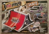 "GX Racers Skate ""Gyro Propelled"" Skateboard 1/4 Quarter Pipe Set Toy"