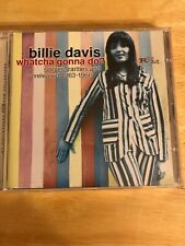 Billie Davis CD Whatcha Gonna Do? Singles Rarities Unreleased 1963-1966 Mod UK