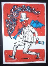 VAMPIRE PEPITO / Cuban Screenprint Poster Salutes US Cuba Relations / COMICS ART