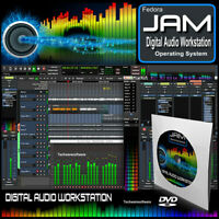 JAM - AUDIO STUDIO Multi-Track,MIDI,Synthesizer,Mix,Record,Sample,Edit Music DVD