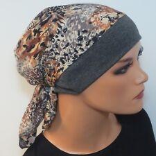 Einzigartige Kopftuchmütze/Chemomütze bequem  Kopfbedeckung bei Krebs Chemo