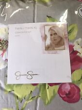 Jessica Simpson Twin Xtra Long Comforter Set Cotton Pink New