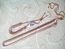 """ADJUSTABLE NECKLACE 12""""-18"""" & BRACELET 5""""-8"""" SET Flat Snake Chain Rose Gold Tone"""