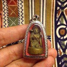 Beautiful Nang Kwak Thai Buddha Amulet Brass Luck Rich Wealth Charm Lotto Gamble