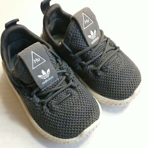 ADIDAS PHARRELL WILLIAMS HU Size 4K Shoes Baby Infant gray Sneakers