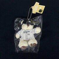 Hanshin Tiger Teddy Bear Keyring FUJINAMI 19 Original Plush Stuffed Doll New Tag