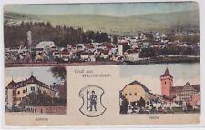 91283 AK Gruß aus Wächtersbach - Schloss, Kirche und Totalansicht um 1910