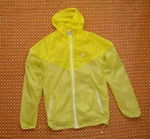 Yellow, Thin Jacket by Nike, Adult S