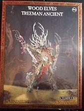 Warhammer Fantasy Wood Elves Treeman Ancient Age of Sigmar NIB Sealed New 92-07