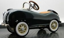 Jaguar Pedal Car 1950s XK SS Race Sport Custom Show Hot Rod Metal Midget Model