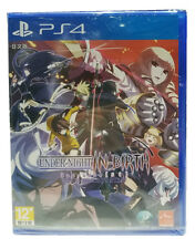 UNDER NIGHT IN-BIRTH EXE LATE ST, Disc, PlayStation PS4, 2017, Japanese