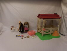 Lanard Triple Crown Beauties Champion Horse Stable + Horse + Doll + Accessories