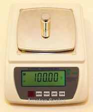 1000 x 0.01 GRAM 10 MG DIGITAL SCALE BALANCE LAB ANALYTICAL PRECISION LABORATORY