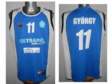 Grasshopper Club Zurich GYORGY #11 Basketball Sleeveless Jersey Top Shirt - XL