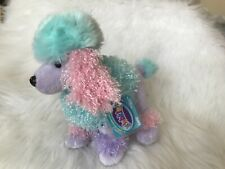 WEBKINZ POOFY POODLE   -NEW W/ SEALED CODE - FREE SHIPPING