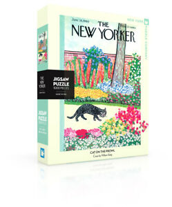 NEW YORK PUZZLE COMPANY NYPC 1000 Pc Puzzle – Cat on the Prowl 03328