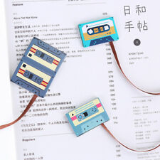 Cassette Tape Long Tail Paper Magnetic Bookmark Book Mark Stationery Kids Gifts