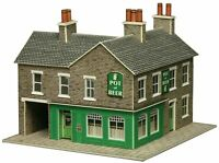 Metcalfe PN117 N Gauge Corner Shop - Stone Card Kit