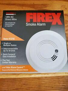 Firex 41216 AC Smoke Alarm Detector type GC