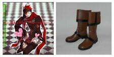 D Gray-man Lavi Version 2 Cosplay Costume Boots Boot Shoes Shoe UK