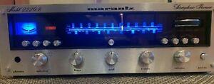 Vintage Marantz 2220B Stereo Receiver - Fully Serviced w/ LED Upgrade
