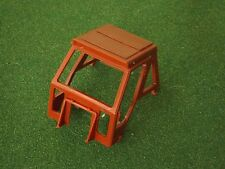 REPRODUCTION BRITAINS 1:32 FIAT 9090 BROWN CAB