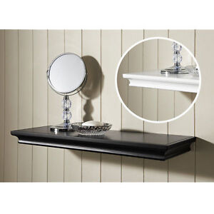 New  60cm Single Shelf Display shelf Classical style BLACK and WHITE