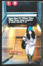 PATTI ROTHBERG Rare 1996 SAMPLER 2 TRX PROMO DJ Cassette Tape SEALED USA