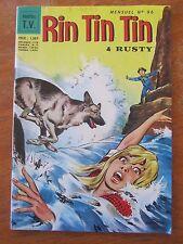 ANCIENNE BD RINTINTIN ET RUSTY 1968 N°96