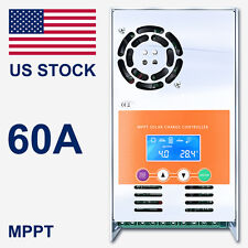 60A Solar Charge Controller  For MPPT 12V 24V 36V 48V DC Battery Regulator
