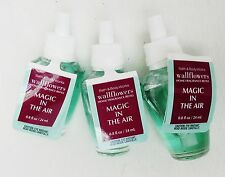 3 Bath Body Works MAGIC IN THE AIR Wallflower Scented Refill Oil Plugin Perfume