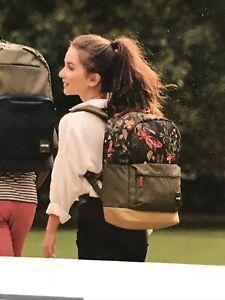 """Case-Logic Commence, Padded Backpack 24L Floral W/Bonus Pencil Case-Holds 15.6"""""""