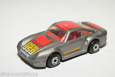 MATCHBOX PORSCHE 959 RALLY METALLIC GREY EXCELLENT CONDITION